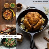 Lodge μαντεμένια σκεύη Διαθέσιμα για παραγγελία στο 👇👇👇 Www.cookworld.grΈτοιμα για χρήση Κατάλληλα για χρήση σε κάθε είδους εστία, απευθείας μέσα στο φούρνο, στο μπάρμπεκιου ή επάνω στη φωτιά. . . . . #cookworldgr #castiron #mantemi #lodge #lodgecastiron #μαντεμι