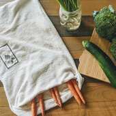 VejibagΒαμβακερή τσάντα συντήρησης λαχανικών για έως και 2 εβδομάδες. 👇👇 Www.cookworld.gr. . . . .#vejibag #plasticfree #cookworldgr #ecofriendly